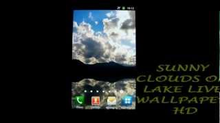Sunny Clouds Live Wallpaper HD YouTube video