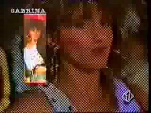 SABRINA SALERNO - SEXY GIRL 1986 - 1RST HIT