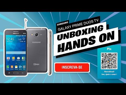 Unboxing Samsung Galaxy Gran Prime Duos TV SM-G530BT + Atualização do Android [PT-BR]