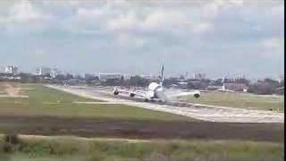 A380 Landing In Chiang Mai