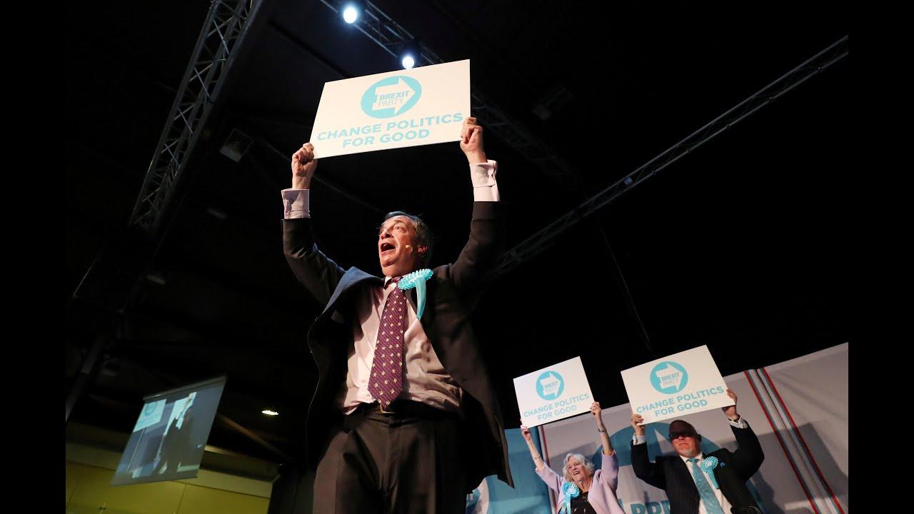 Ευρωεκλογές: Το κόμμα Brexit προηγείται στις δημοσκοπήσεις…