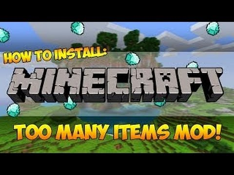 Too Many Items Mod 1.7.4