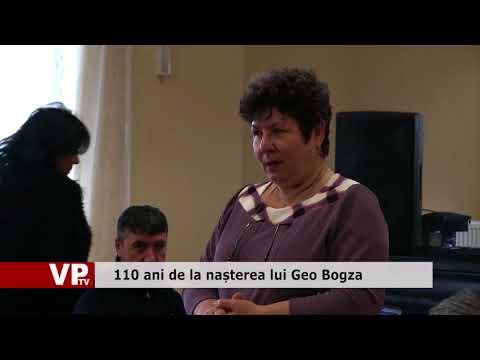 110 ani de la nașterea lui Geo Bogza