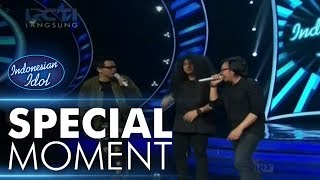 Video Para juri rebutan bernyanyi bersama Chandra! - Sperkta Show Top 10 - Indonesian Idol 2018 MP3, 3GP, MP4, WEBM, AVI, FLV November 2018
