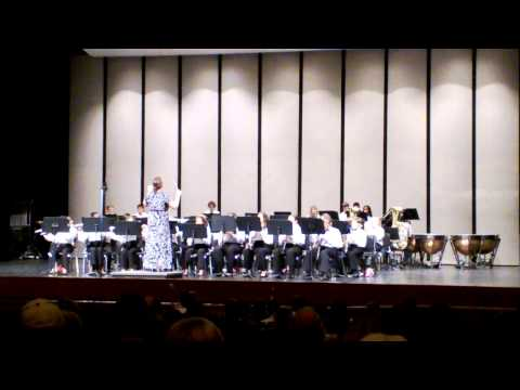 RBMS Concert Band I Winter 2013 -  Infinity (Concert March)