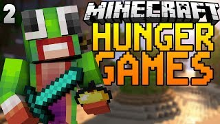 Minecraft: Hunger Games Survival - Game 2 | HOLIDAY RESORT MADNESS!