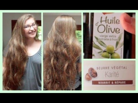 comment appliquer masque huile d'olive cheveux