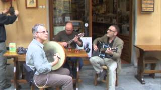 Barga Italy  city photo : Musicians outside Aristo's in Barga, Italy - May 2012