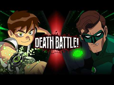 Death Battle Music - Emerald Heroes (Ben 10 Vs Green Lantern) Extended
