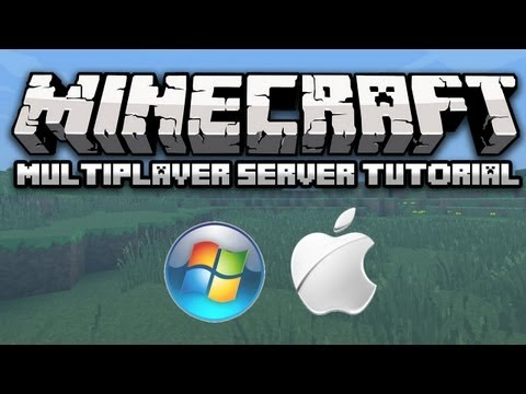 How to Make a Minecraft 1.8.4 Server Easily (Windows/Mac) (No Hamachi) (Working)