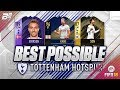 THE BEST POSSIBLE TOTTENHAM TEAM! w/ TOTY KANE AND HERO ERIKSEN! | FIFA 18 ULTIMATE TEAM