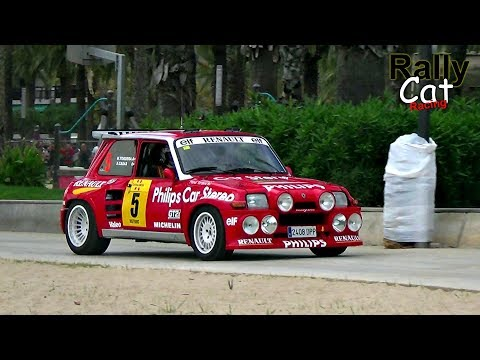 WRC Rally Catalunya 2017 / Best of historic Rally Cars