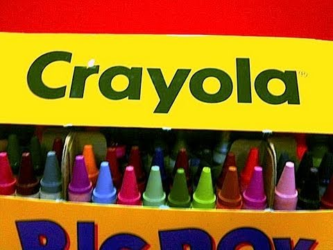 crayons - Collection of Crayola Crayons made for Decades by the Binney & Smith Company, now a division of Hallmark. A Fun Toy Review by Mike Mozart of TheToyChannel. A...