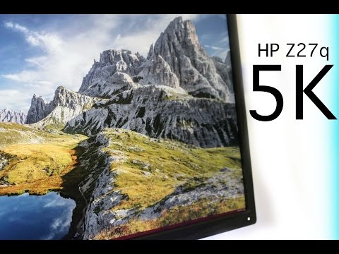 HP Z27Q 5K Monitor - Quick Look