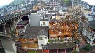 Fenghuang (Phoenix) China  City new picture : AEE Unmanned Aircraft System-F50 Record the Scenery of FengHuang Town China