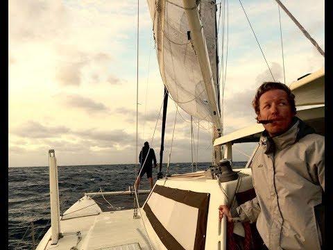 Reality sailing. Turning back after sailing 700 miles.  Sailing Zingaro Ep-12