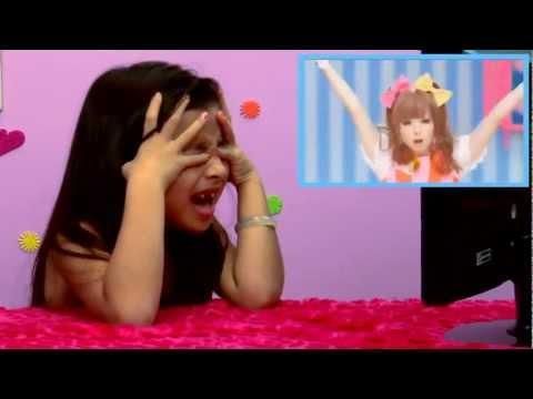 美國小孩看日本流行歌(卡莉怪妞) – KIDS REACT TO PONPONPON (中文字幕 Chinese subtitles)