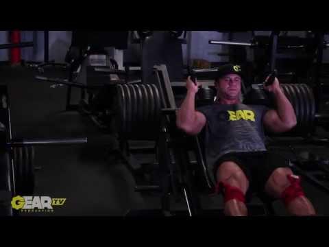 Aaron Clark Bodybuilding Hardcore Leg Workout