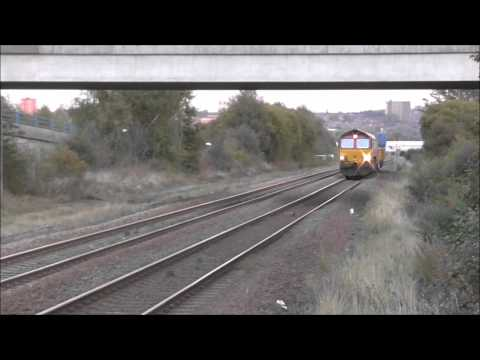 Trains at Metrocentre Station 10th October 2014