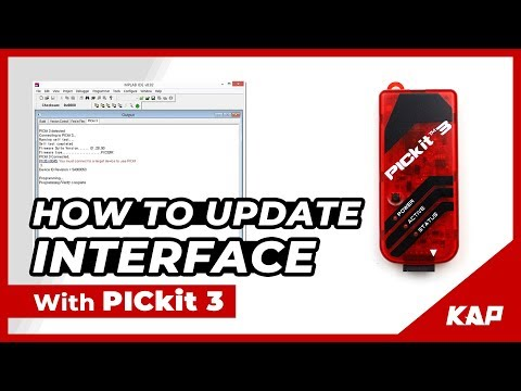 How to update Interface with PICKIT3