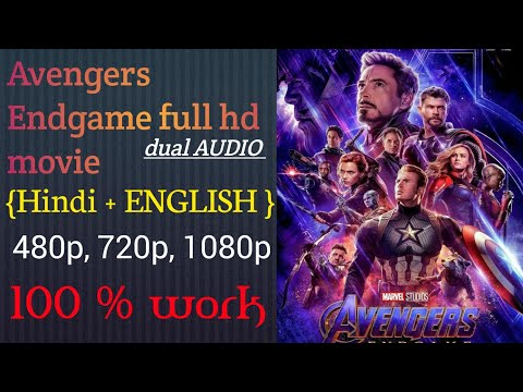 how to download avengers endgame Hollywood movie in hindi, avengers endgame full hd movie 720p