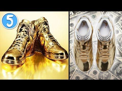 le 5 scarpe (sneaker) più costose del mondo - da vedere!