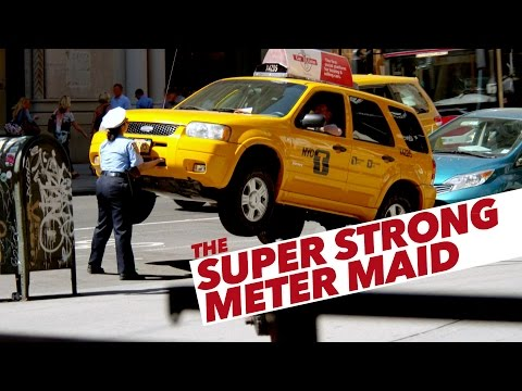 New York Meter Maid Cars