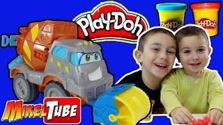 Jugamos con el Camión hormigonera de Play Doh Hasbro en tu canal Infantil en Español