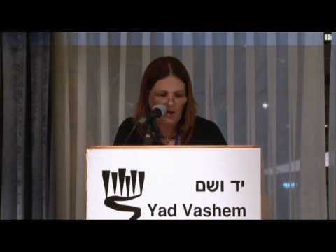 Remarks by Ms. Dorit Novak, Director, International School for Holocaust Studies, Yad Vashem [08:40 min]