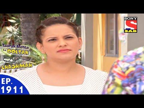 Taarak Mehta Ka Ooltah Chashmah - तारक मेहता - Episode 1911 - 8th April, 2016