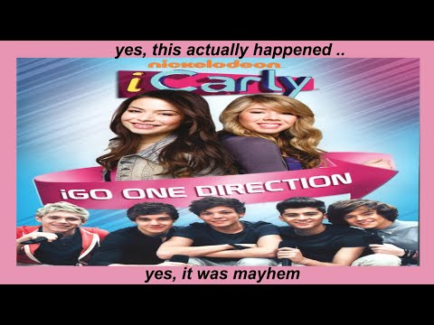 the one direction icarly episode was a fever dream