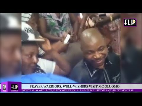 Download PRAYER WARRIORS, WELL-WISHERS VISIT MC OLUOMO, SHORTLY BEFORE JETTING OUT TO US FOR MEDICAL CARE