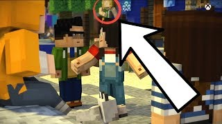 Minecraft Story Mode Season 2 Predictions 8- A Geek, Four Admins, and a Nell look-a-like?