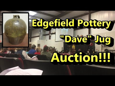You Won't Believe What this Jug Just Sold For! Edgefield Pottery \