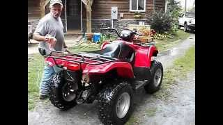 9. Up for sale 2003 Suzuki Vinson Quadrunner 4x4 500cc Quadmatic 5,228 miles 3,677 hrs Warn winch