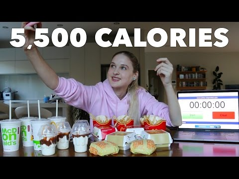 Girl Eats $40 McDonald