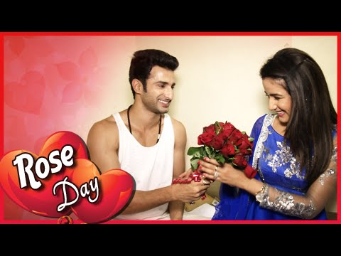 Kunj Gives Roses To Twinkle | Rose Day | Valentine