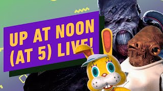 Up At Noon (At Five) LIVE!: Resident Evil 3's Nemesis, Animal Crossing & Star Wars Toys by IGN