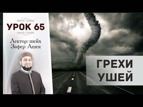 Урок 65. Грехи ушей