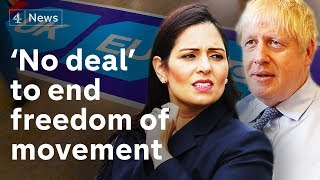 """Video EU freedom of movement """"will end"""" onday one of no-deal Brexit MP3, 3GP, MP4, WEBM, AVI, FLV Agustus 2019"""
