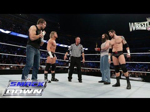 Dolph Ziggler & Dean Ambrose vs. Bad News Barrett & Luke Harper: SmackDown, March 5, 2015