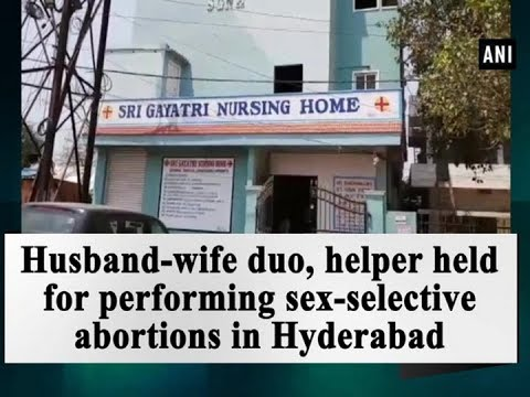 Husband-wife duo, helper held for performing sex-selective abortions in Hyderabad - Hyderabad News
