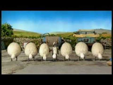 shaun - Shaun the Sheep and his flock show us how to dance!