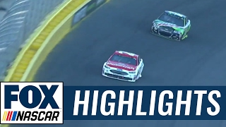 Ryan Blaney Wins Open Stage Two   2017 ALL-STAR RACE   FOX NASCAR