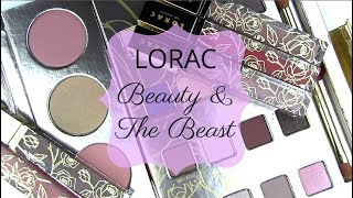 """LORAC's Beauty & The Beast Collection - win the shadow palette!** NOW AVAILABLE HERE *http://bit.ly/2rcwOIE **Swatch Photos: Cheek Palette: http://wp.me/p1jkff-jgoEyeshadow Palette: http://wp.me/p1jkff-jgfLip Glosses: TBAGIVEAWAY WINNER: addictedtoyou148BLOG SALE: http://bit.ly/1dGiNtFhttp://www.allurabeauty.comPaula's Choice (best skincare): http://goo.gl/r9cy4o Ebates cash-back: http://bit.ly/1kQ83tMhttp://www.allurabeauty.comTwitter: http://twitter.com/allurabeautyFacebook: http://www.facebook.com/allurabeautyPinterest: http://pinterest.com/allurabeauty/All links are provided for your convenience.  If there is a """"*"""" next to the link, it is an affiliate link."""