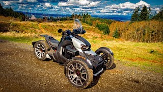 8. Can-Am Ryker Replaced Spyder RT! • Fun Level Extremely High! | MotoVlog 320