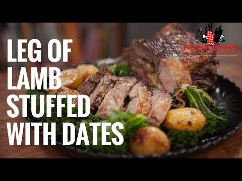 Angas Park Leg Of Lamb Stuffed with Dates | Everyday Gourmet S6 E74