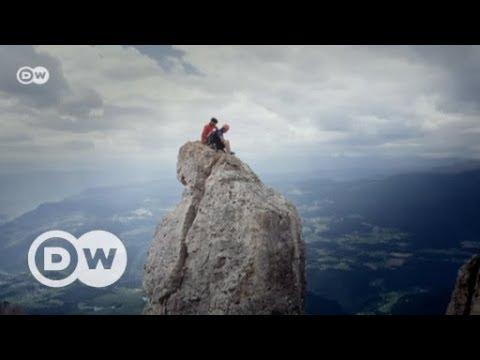 Balanceakt: Profi-Slackliner Lukas Irmler | DW Deutsc ...