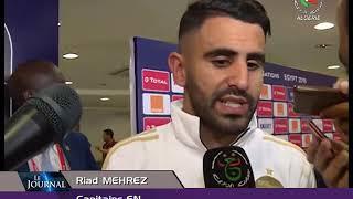 CAN / Algérie 2-0 Kenya: Réaction de Belmadi et des joueurs après le match- Canal Algérie