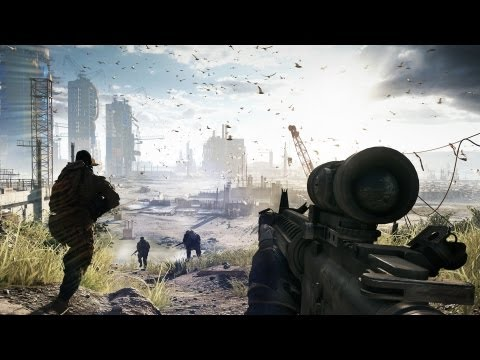 gameplay - http://www.battlefield.com Battlefield 4 will release Fall 2013. The